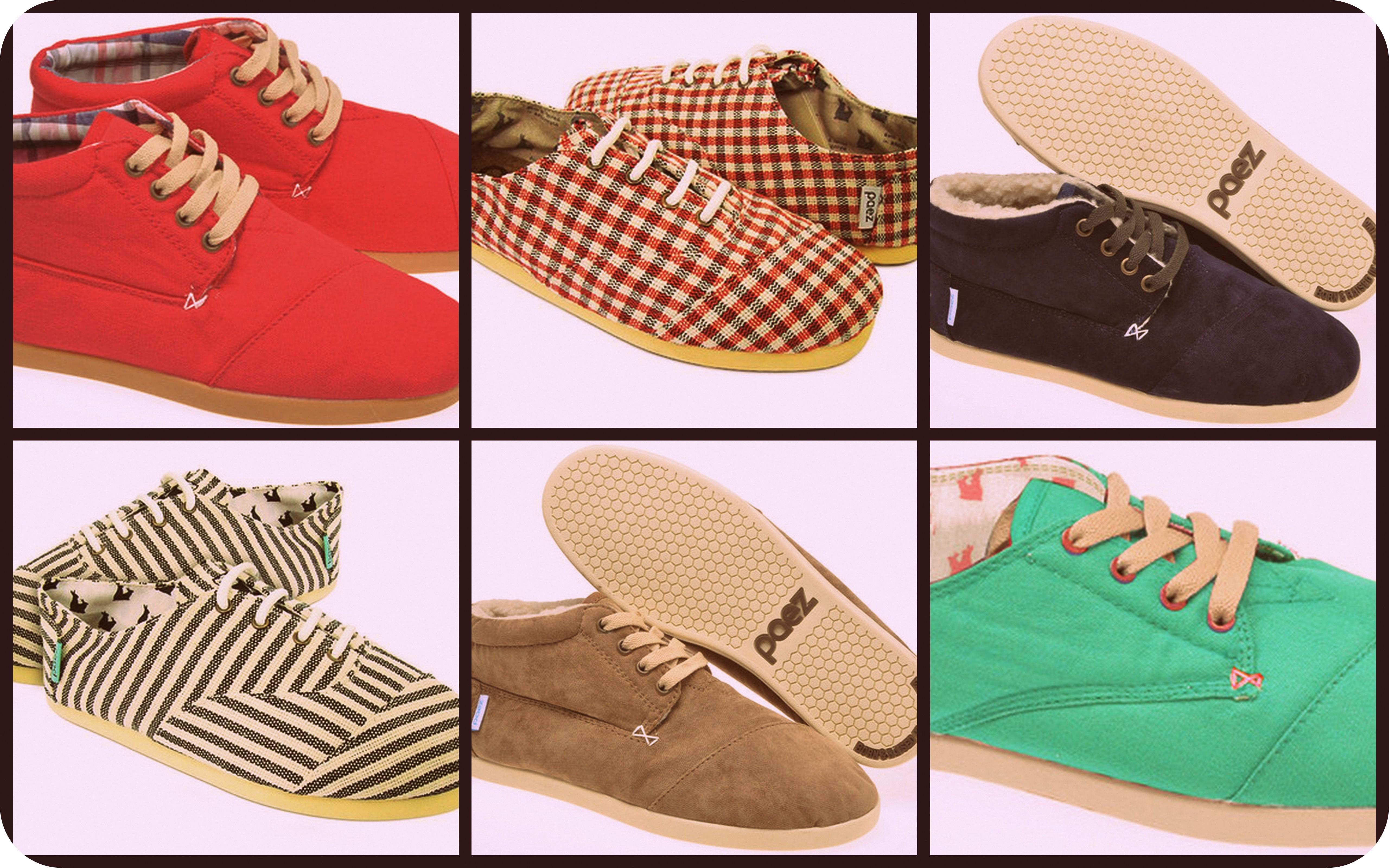 Botas y sneakers Paez