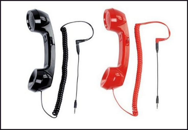 Auricular retro para móvil